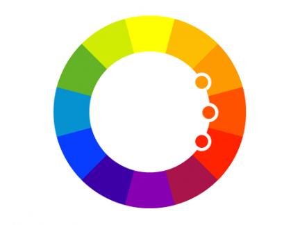 Gama cromática para diseñar sitios web